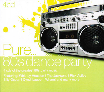 #<Artist:0x00007f7b8d69dbf0> - Pure... 80s Dance Party