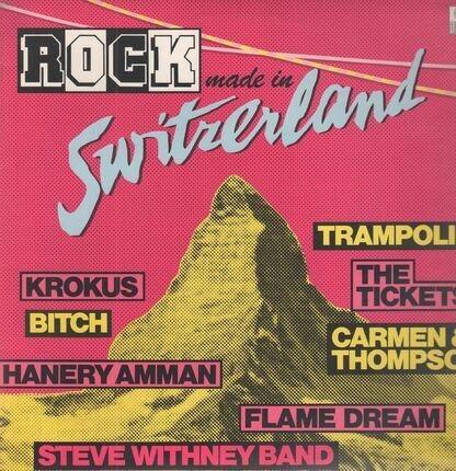 #<Artist:0x00007fe12fe362b0> - Rock Made in Switzerland