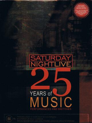 #<Artist:0x00007f740f1e3180> - Saturday Night Live (25 Years Of Music)