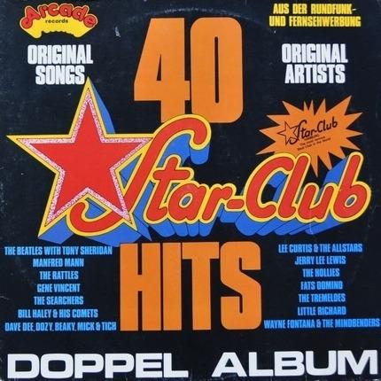 #<Artist:0x00007f740d3474b0> - 40 Star-Club Hits
