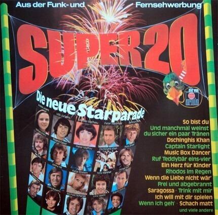 #<Artist:0x00007f1039b16890> - Super 20 - Die Neue Starparade