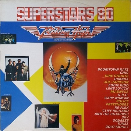 #<Artist:0x00007f412d374720> - Superstars 80 - Riding High Original Film Soundtrack