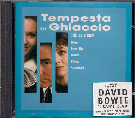 #<Artist:0x00007fb6e0ee5c70> - Tempesta Di Ghiaccio - Music From The Motion Picture Soundtrack The Ice Storm