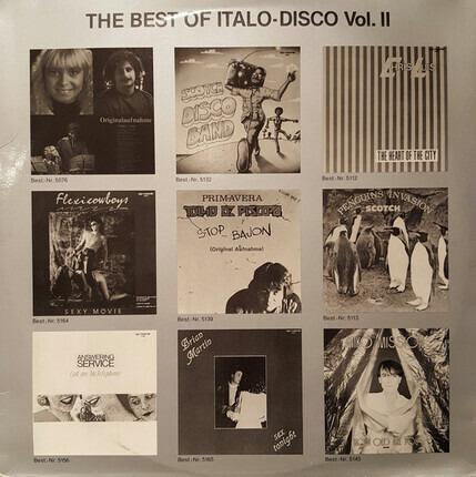 #<Artist:0x00007fd046a782f8> - The Best Of Italo Disco Vol. 2