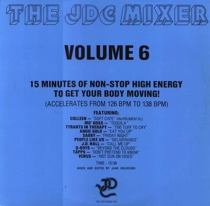 #<Artist:0x00007f904844c138> - The JDC Mixer Volume 6