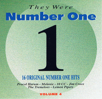 #<Artist:0x00007f60b0defd10> - They Were Number One - Volume 4