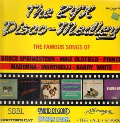 #<Artist:0x00007f2a39b07b28> - The ZYX Disco-Medley