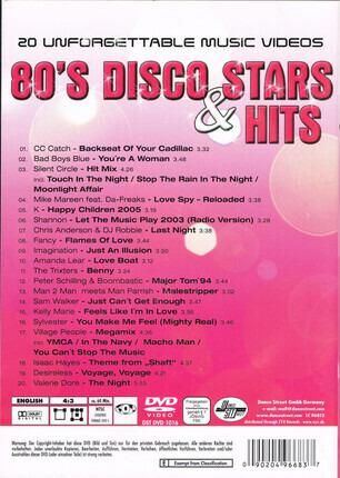 #<Artist:0x00007fcee1e198c8> - 80's Disco Stars & Hits