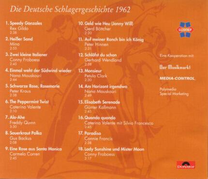 #<Artist:0x00000000086fb820> - Die Deutsche Schlagergeschichte - 1962