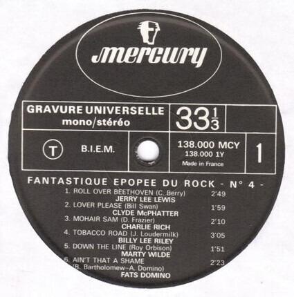 #<Artist:0x00007fcee1fb3210> - La Fantastique Epopée Du Rock Vol.4
