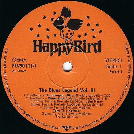 #<Artist:0x00007fcec0e7e5f0> - The Blues Legend Vol. 3