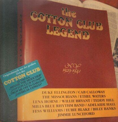 #<Artist:0x00007f103af2c4b0> - The Cotton Club Legend