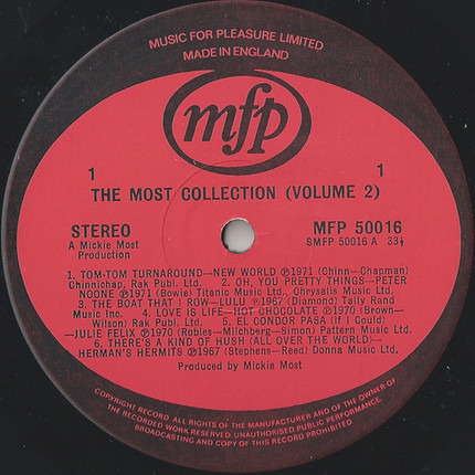 #<Artist:0x00007fcec083fc98> - The Most Collection Volume 2
