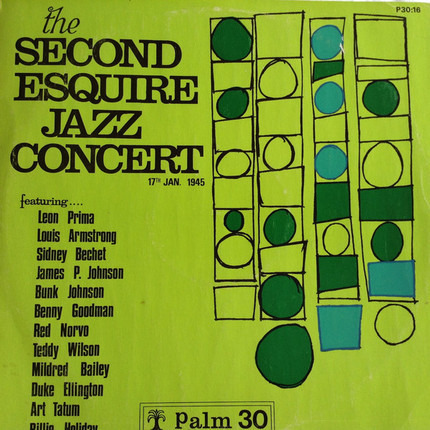#<Artist:0x00007fce29f6ed30> - The Second Esquire Jazz Concert 17th Jan. 1945