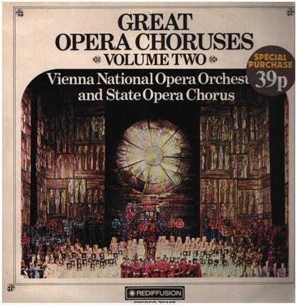 #<Artist:0x00007f740f32f1b0> - Great Opera Choruses Volume Two