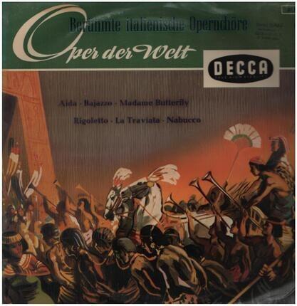 #<Artist:0x0000000007c6bbf8> - Berühmte Italienische Opernchöre