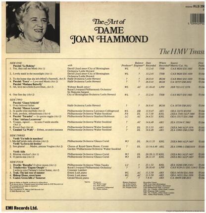 #<Artist:0x00007fcec1fcf408> - The Art of Dame Joan Hammond