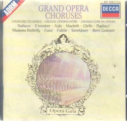 #<Artist:0x00007f412dc687c8> - Grosse Opernchöre