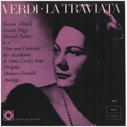 #<Artist:0x00007fcee35e5880> - La Traviata (Arien Und Szenen)