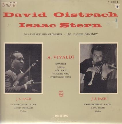 #<Artist:0x00007fcee2bce4c8> - Concerto For Two Violins And String Orchestra In A Minor