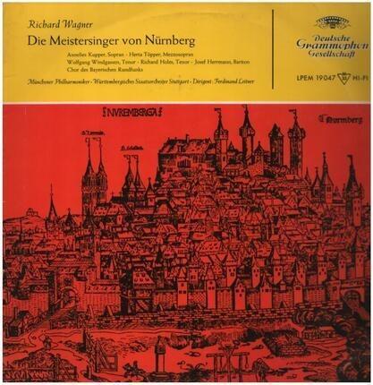 #<Artist:0x0000000007af0f30> - Die Meistersinger Von Nuernberg (Querschnitt)