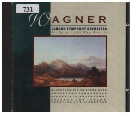 #<Artist:0x00007fce32eece80> - Overture: Die Meistersinger / Overture: Tannhäuser / Siegfried's Rhine Journey / Tristan Und Isolde