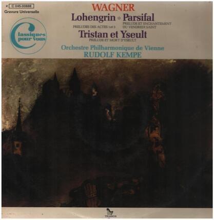 #<Artist:0x00007f73ef2e6958> - Préludes: Lohengrin / Parsifal / Tristan et Yseult