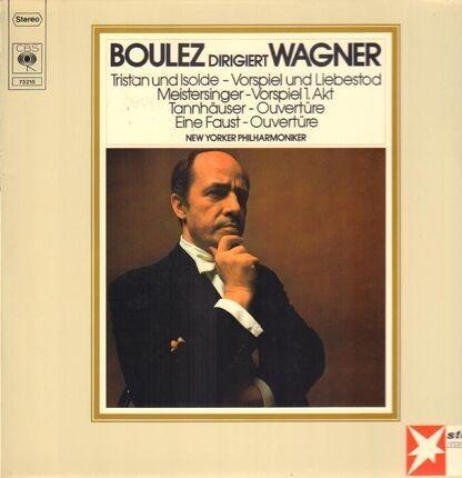 #<Artist:0x00007f60b9f770a8> - Boulez dirigiert Wagner