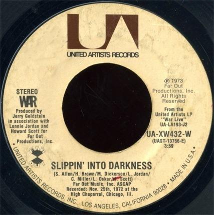 #<Artist:0x0000000007d7dc08> - Ballero / Slippin' Into Darkness