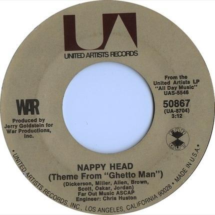 #<Artist:0x00007f103687e068> - Slippin' Into Darkness / Nappy Head (Theme From 'Ghetto Man')