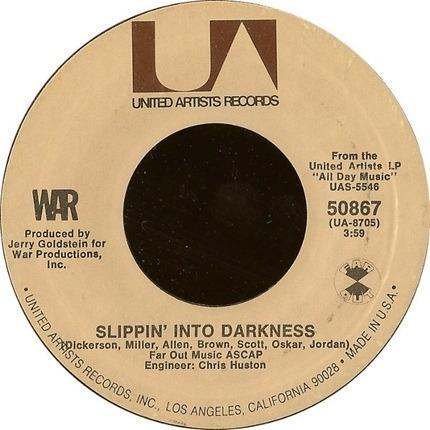 #<Artist:0x00007fcee81b3708> - Slippin' Into Darkness / Nappy Head (Theme From 'Ghetto Man')