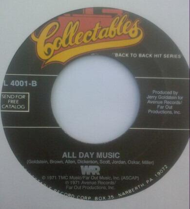 #<Artist:0x00007f49a9757d90> - Cisco Kid / All Day Music