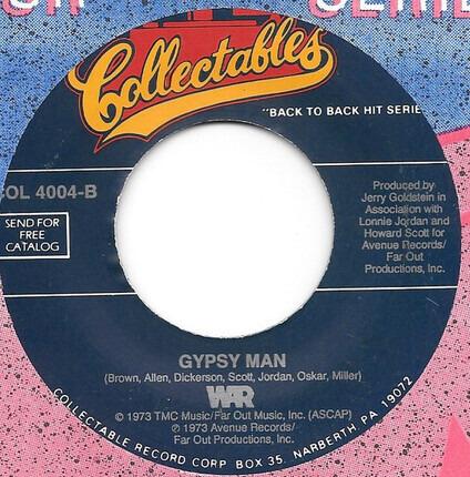 #<Artist:0x00007f2698152438> - Slippin' Into Darkness / Gypsy Man