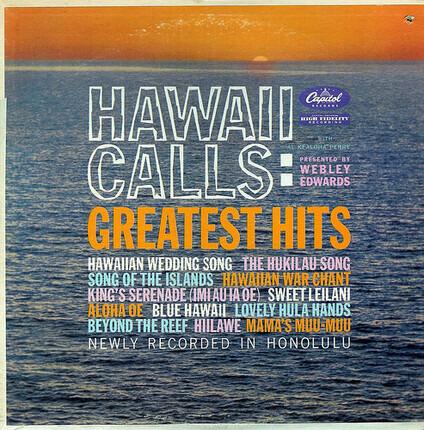 #<Artist:0x00007f3624ee9e48> - Hawaii Calls: Greatest Hits