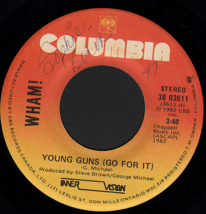 #<Artist:0x00007fceb8ba9120> - Young Guns (Go For It)