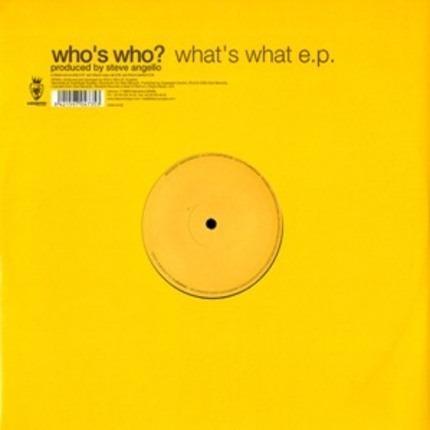 #<Artist:0x0000000006681f68> - What's What E.P.