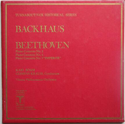 """#<Artist:0x00007fbb9c3737c8> - Piano Concertos Nos. 3 / Piano Concertos Nos. 4 / Piano Concertos Nos. 5 """"Emperor'"""