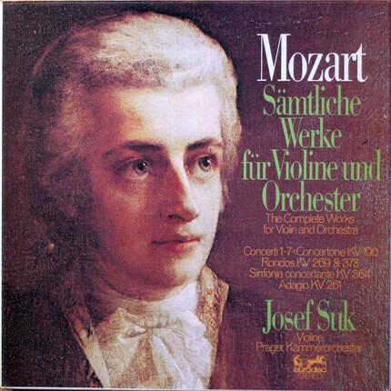 #<Artist:0x00007fdb1550f878> - Sämtliche Werke für Violine und Orchester