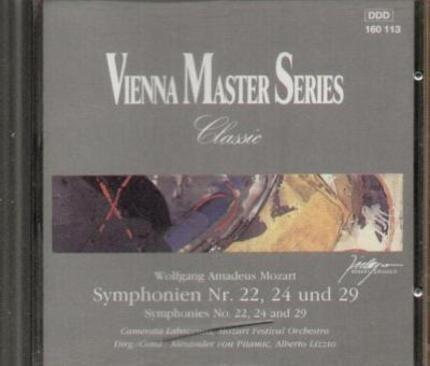 #<Artist:0x00007f4aa58feac0> - Symphonien Nr. 22, 24 und 29