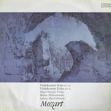 #<Artist:0x00007f7e1f3833b8> - Violinkonzert B-Dur KV 207 / Violinkonzert D-Dur KV 211