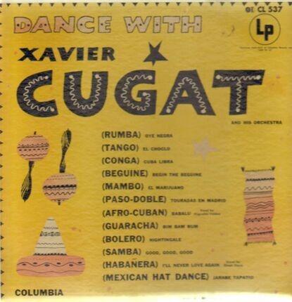 #<Artist:0x00007f73f22db4d8> - Dance with Cugat
