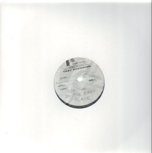 Dr. john in the right place(test pressing) 1
