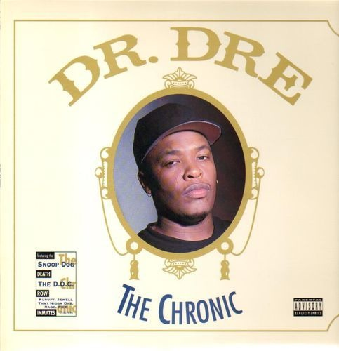 Dr.dre thechronic(1stpress.recycledpaper)