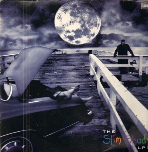 Eminem the slim shady lp(original 1st us. unplayed) 1