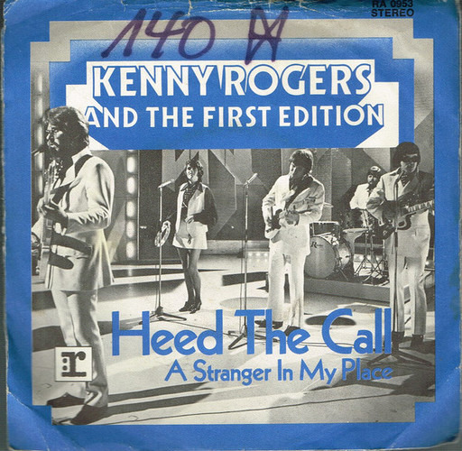 Heed The Call Kenny Rogers The First Edition 7inch Recordsale