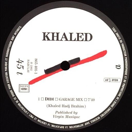 Didi - Cheb Khaled   12''   Recordsale