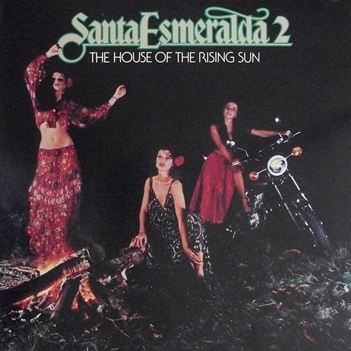 santa esmeralda copertina