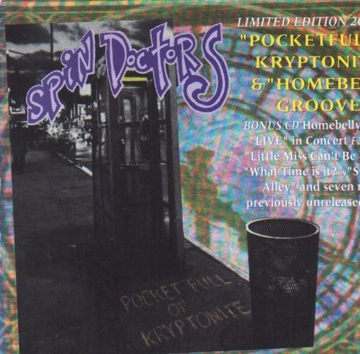 spin doctors homebelly groove