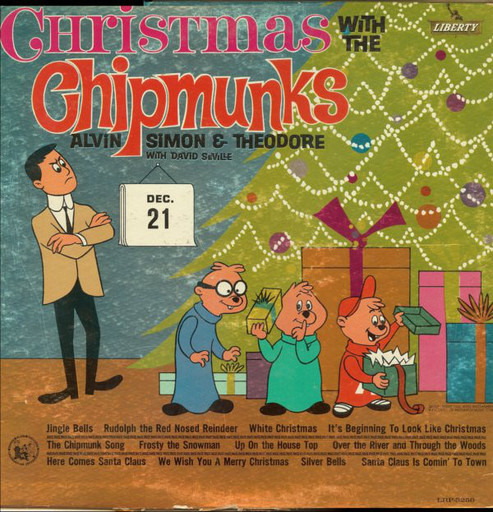 Chipmunks Christmas.Christmas With The Chipmunks The Chipmunks Lp Recordsale