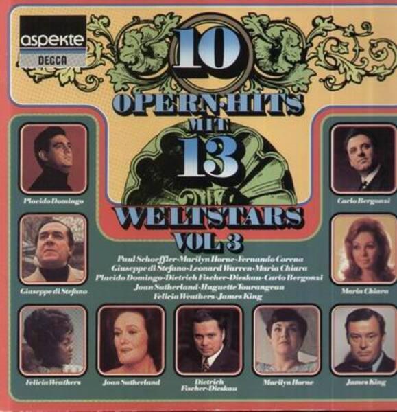Paul Schoeffler, Marilyn Horne, Fernando Corena a. 10 Opernhits mit 13 Weltstars Vol 3